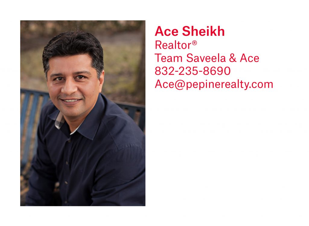 Ace Sheikh, Gainesville Realtor, with Pepine Realty