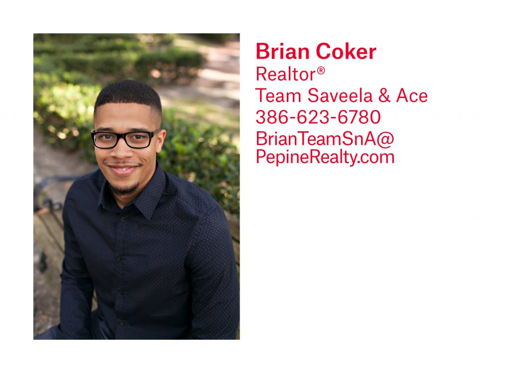 Brian Coker, Gainesville Realtor, with Pepine Realty