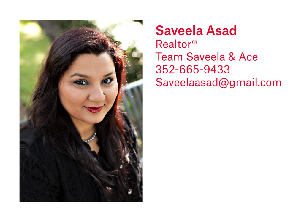 Saveela Asad, Gainesville Realtor, with Pepine Realty
