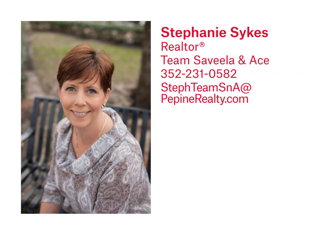 Stephanie Sykes, Gainesville Realtor, with Pepine Realty