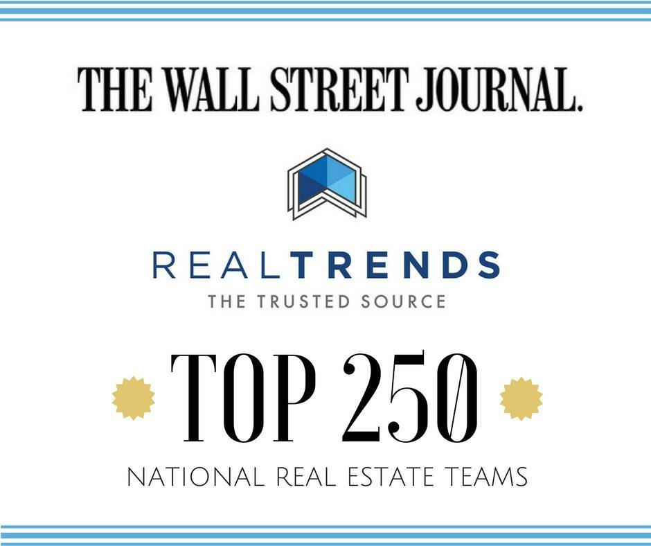 The wall street journal top 250 real estate teams for Wall street journal mansion