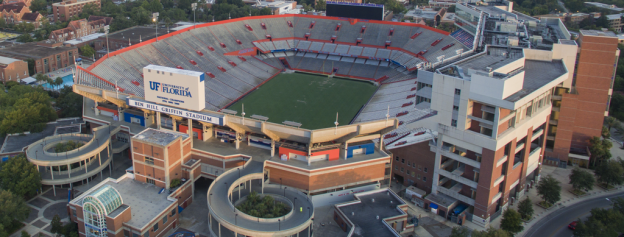 If you're in Gainesville for football season, you must see a game in the stadium which is impressive on its own