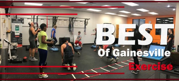 Learn about the best places to work out in Gainesville and Alachua County ranging from Barre, yoga, crossfit, and more
