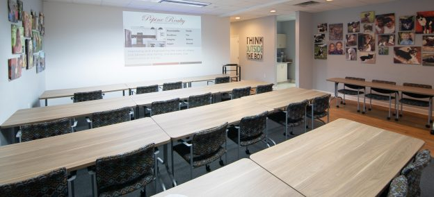 Conference room available for reservation in Gainesville, FL