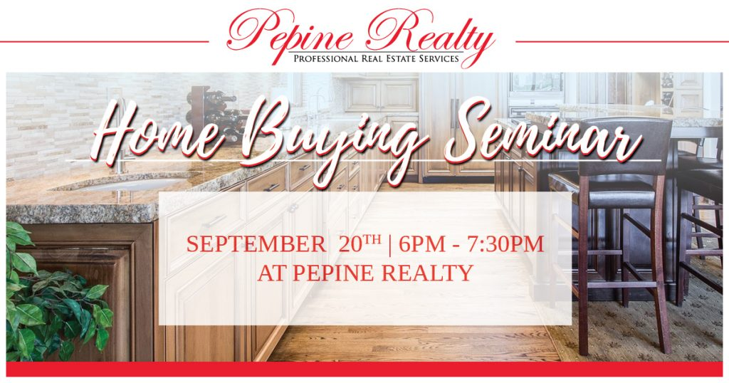 Join us for a home buying seminar Sept. 20th
