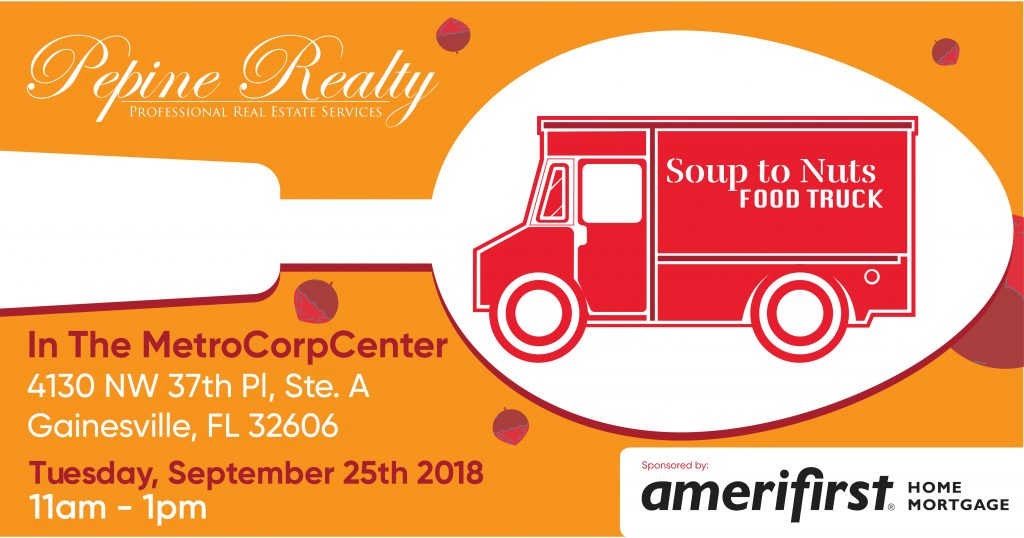 Soup to Nuts food truck at Pepine Realty