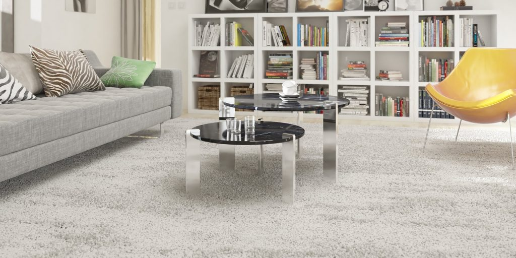 Clean carpets; if carpets are showing wear. Consider replacing them with an inexpensive neutral-colored carpet