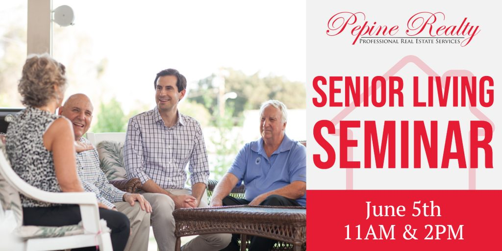 Join us for a free Ocala Senior Living Seminar on June 5th