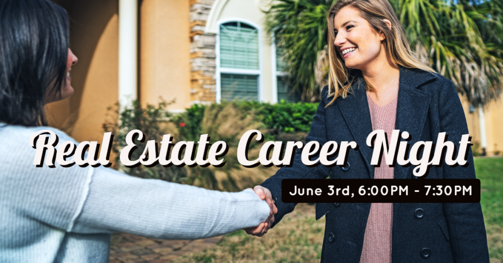 Pepine Realty Career Night will be held on June 3rd. Learn about being a Realtor.